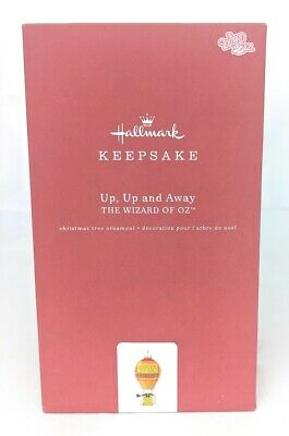 Hallmark Keepsake 2019 The Wizard of Oz Up, Up and Away Glass and Metal Ornament