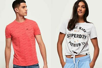 New Superdry Tshirts Selection for Men and Women Various Styles & Colours 1 2507