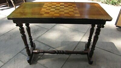 Victorian Rectangular Games Table