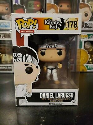 Funko Pop! Television The Karate Kid Daniel Larusso #178 Vaulted WITH PROTECTOR!