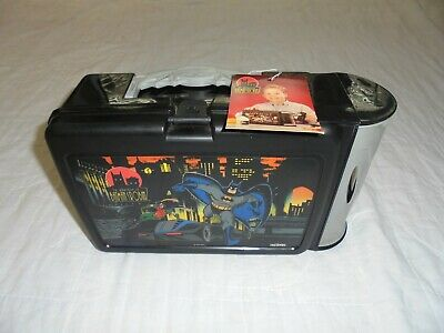 The Adventures of Batman and Robin Plastic LUNCHBOX- Brand New with Tags!! 1995