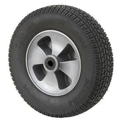 """12"""" x 3.25"""" Solid Rubber Turf Pro Wheel Assembly 1-116130"""