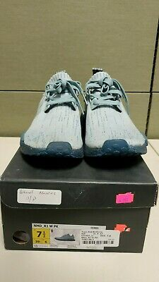 ADIDAS ORIGINALS WOMENS NMD_R1 Primeknit Casual Shoes CG3601 USED SIZE 7.5