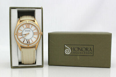 Beautiful Honora Bronze, Stainless Steel & Mother of Pearl Timepiece/Watch
