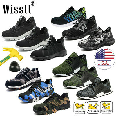 Men Indestructible Bulletproof Ultra X Protection Safety Shoes Steel Toe Boots W