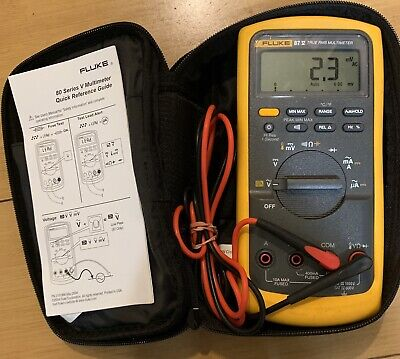 BRYMAN BM235 MULTIMETER True RMS DMM Tested + Working #ch - $99 99