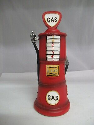 Red Resin Gas Pump Bank, 726-E