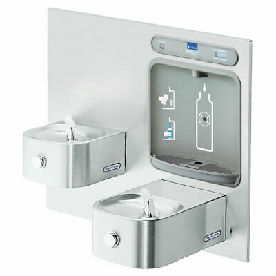 Elkay LZWS-EDFP217K EZH2O Non-Refrigerated Bottle Filling Station, Stainless