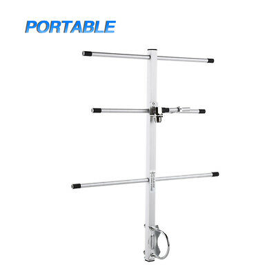 Handheld Aluminum UHF-F 7dBi High Gain Yagi Antenna 430-450MHz For Two Way Radio