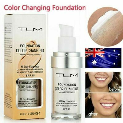 Magic Flawless Color Changing Foundation Makeup Change To Your Skin Tone TLM