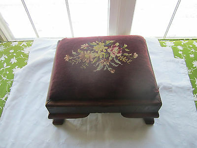 Brilliant Antique Victorian Handmade Straw Filled Foot Stool Round Gamerscity Chair Design For Home Gamerscityorg