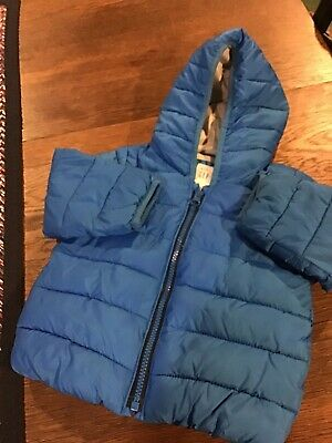 Baby Gap Toddler Boys Hooded Primaloft Jacket...size 18-24 Months