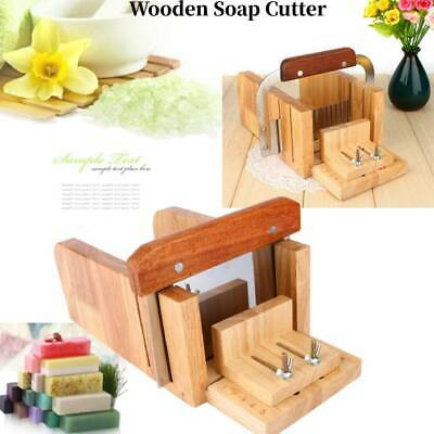 Multi-function Loaf Soap Cutter Wooden Candle Wax Mold Slicer Cutter Craft Tools