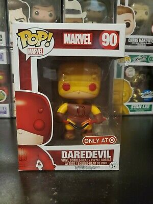 Funko Pop! Marvel Daredevil #90 Yellow Target Exclusive WITH PROTECTOR!