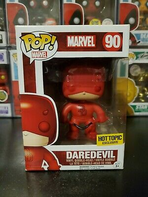 Funko Pop! Marvel Daredevil #90 Hot Topic Exclusive Bobblehead WITH PROTECTOR!