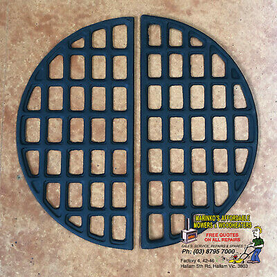 CAST IRON FIRE GRATE Holds Wood Logs in POT BELLY STOVE 430mm Brand New