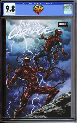 Absolute Carnage 1 Mico Suayan Slabbed Heroes Variant CGC 9.8 8/7/19 Fast Track