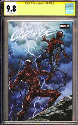 Absolute Carnage 1 Mico Suayan Slabbed Heroes Variant CGC 9.8
