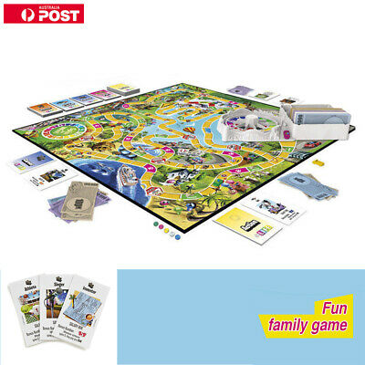 AU Edition The Game of Life Board Game Party Fun Kids Family Interactive Game