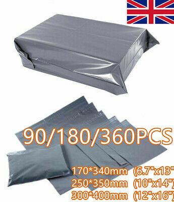 Grey Extra Strong Seal Post Parcel Packing Mailing Bags Small Medium Large MIXED