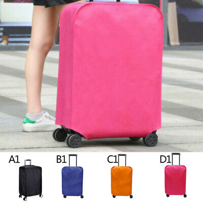Printed Travel Luggage Cover Protector Elastic Suitcase Bag Dust-proof