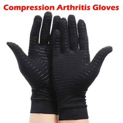 Compression Gloves Wrist Brace Support Arthritis Carpal Tunnel Joint Pain Relief
