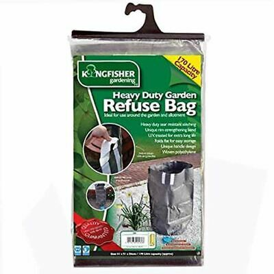Heavy Duty Garden Refuse Bag Waste Rubbish Grass Tip Waterproof Reusable Sack