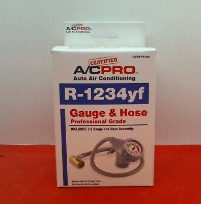 AVC Pro Auto Air Conditioningn Gauge & Hose
