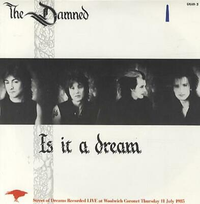 "Damned Is It A Dream 7"" vinyl single record UK GRIM3 MCA 1985"