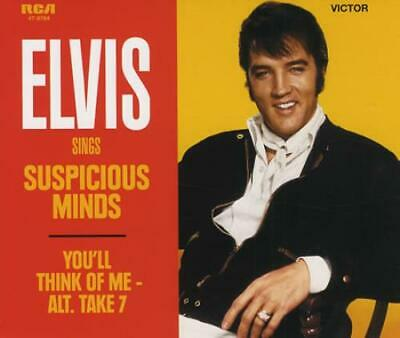 "Elvis Presley Suspicious Minds CD single (CD5 / 5"") UK 88697147212 SONY/BMG"