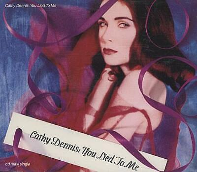 """Cathy Dennis You Lied To Me UK CD single (CD5 / 5"""") CATHD6 POLYDOR 1992"""