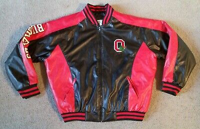 dbd1088d5 OHIO STATE BUCKEYES Varsity Letterman Type Jacket Steve & Barry's ...
