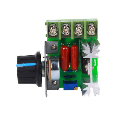 2000W AC Motor Speed Controller 50-220V 25A Adjustable Motor Speed Controller CT