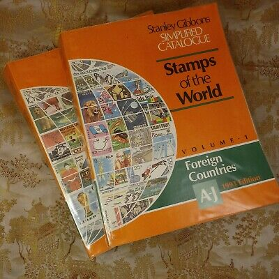 Simplified Catalogue of Stamps of the World by Gibbons, Stanley Paperback 1993