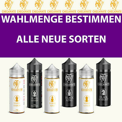 Checkmate White Bishop Black Bishop White King nach Wunschmenge 10ml Aroma Set