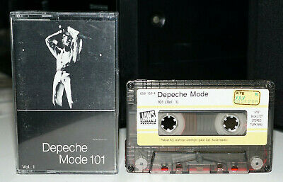 Depeche Mode 101 Vol 1/ULTRA RARE/100% Play Tested/Turkish/Collectors/Cassette