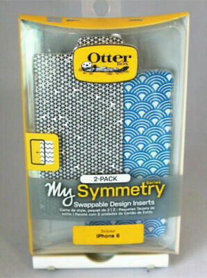 OtterBox Symmetry Series Tri-Grid Gray/Arches Swappable Inserts For iPhone 6/6s