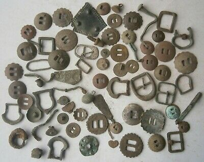 72 pcs ANTIQUE Artefact ROMAN Empire or VIKING Period KIEVAN Rus' BRONZE Ukraine