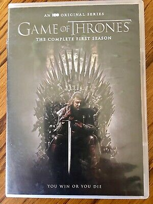 Game of Thrones:  The Complete First Season DVD 5 Disc Set