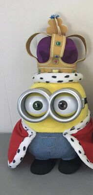 JUMBO MINION BOB Giant Stuffed Talking Movie Plush