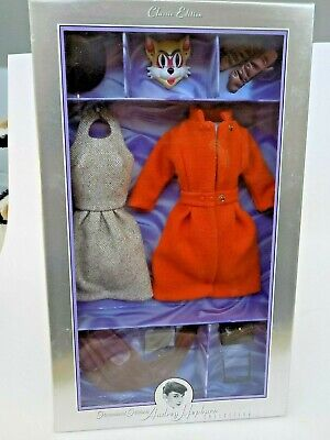 Audrey Hepburn Collection The Cat Mask Outfit New In Box--slight box damage-NRFB