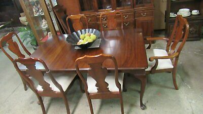 Stickley  Queen Anne Dining Room Chairs Dining Room Set