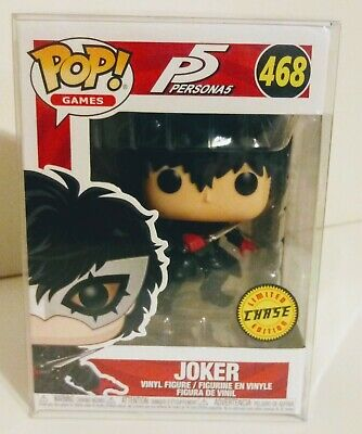 Funko Pop Games P5 Persona 5 The Joker Limited Edition Chase #468