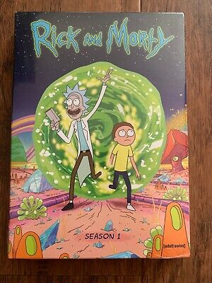 Rick and Morty: The Complete First Season (DVD, 2014, 2-Disc Set) NEW