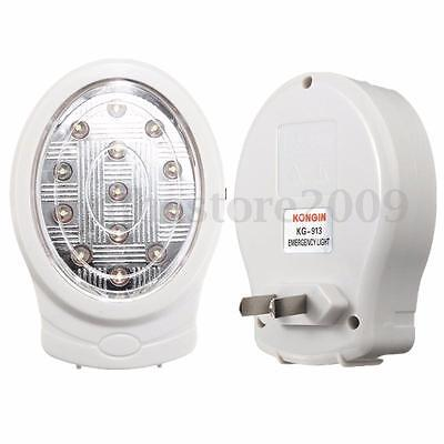 13 LED Rechargeable Home Emergency Automatic Power Failure Outage Light Lamp IT