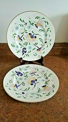 Coalport PAGEANT Dinner Plate (s) LOT OF 2 Bone China England