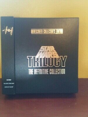 Star Wars Trilogy The Definitive Collection Laserdisc WS Collectors Edition Box