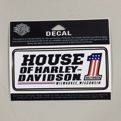 Harley-Davidson Customized House of Harley-Davidson Decal #1 Logo DCCUS03