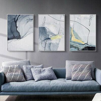 Marble Texture Abstract Modern Style Canvas Poster Contemporary Wall Art Print