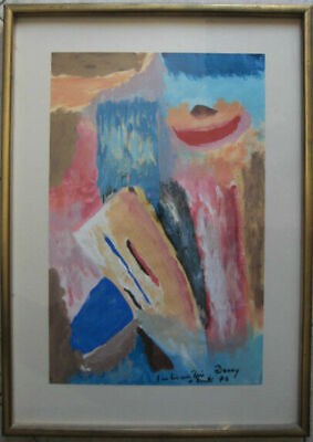 """Paintings Painting Acrylic on paper Signed """" Benny """""""